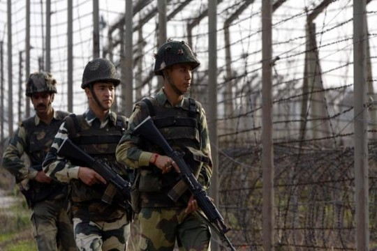 file photo of indian army on loc