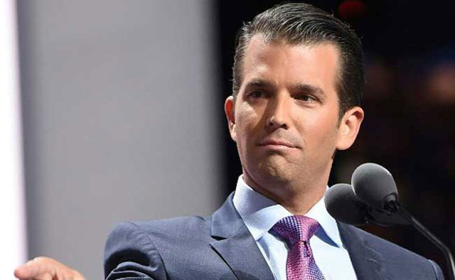 trump s son compares syrian refugees to poisoned skittles