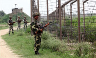 indian army personnel patrolling along the line of control photo afp
