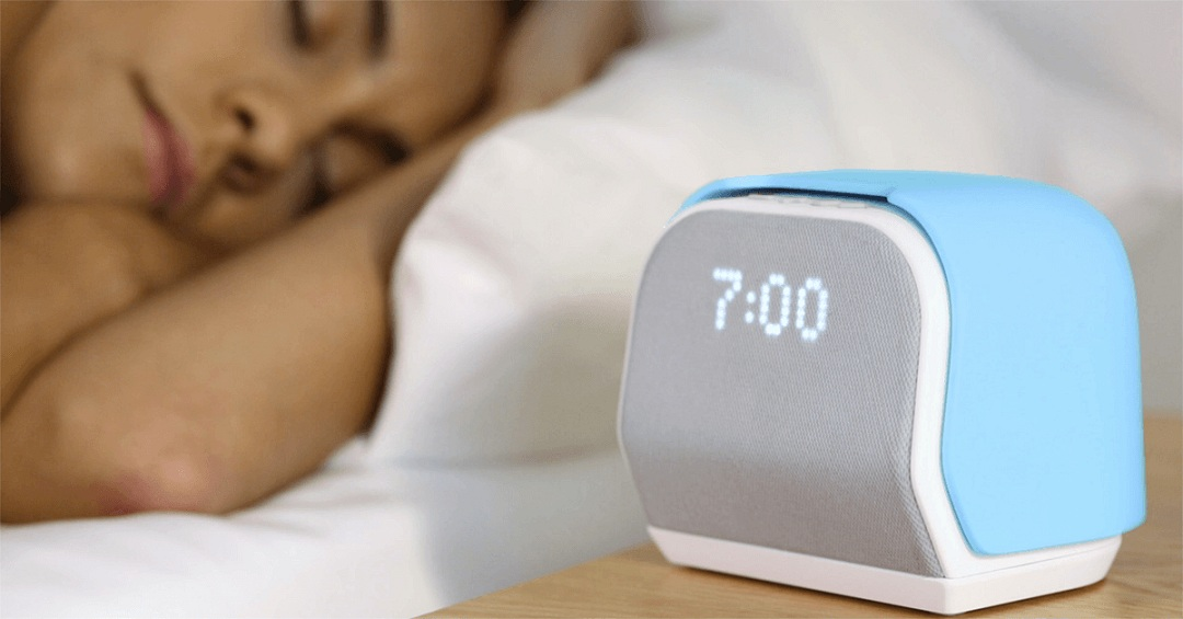 this smart alarm clock wants to turn you into a morning person