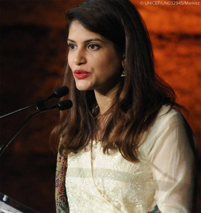 docthers won the campaigner award or improving the lives of girls and women across pakistan photo source unicef