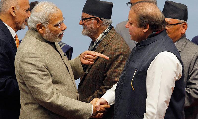 indian prime minister narendra modi and prime minister nawaz sharif photo reuters