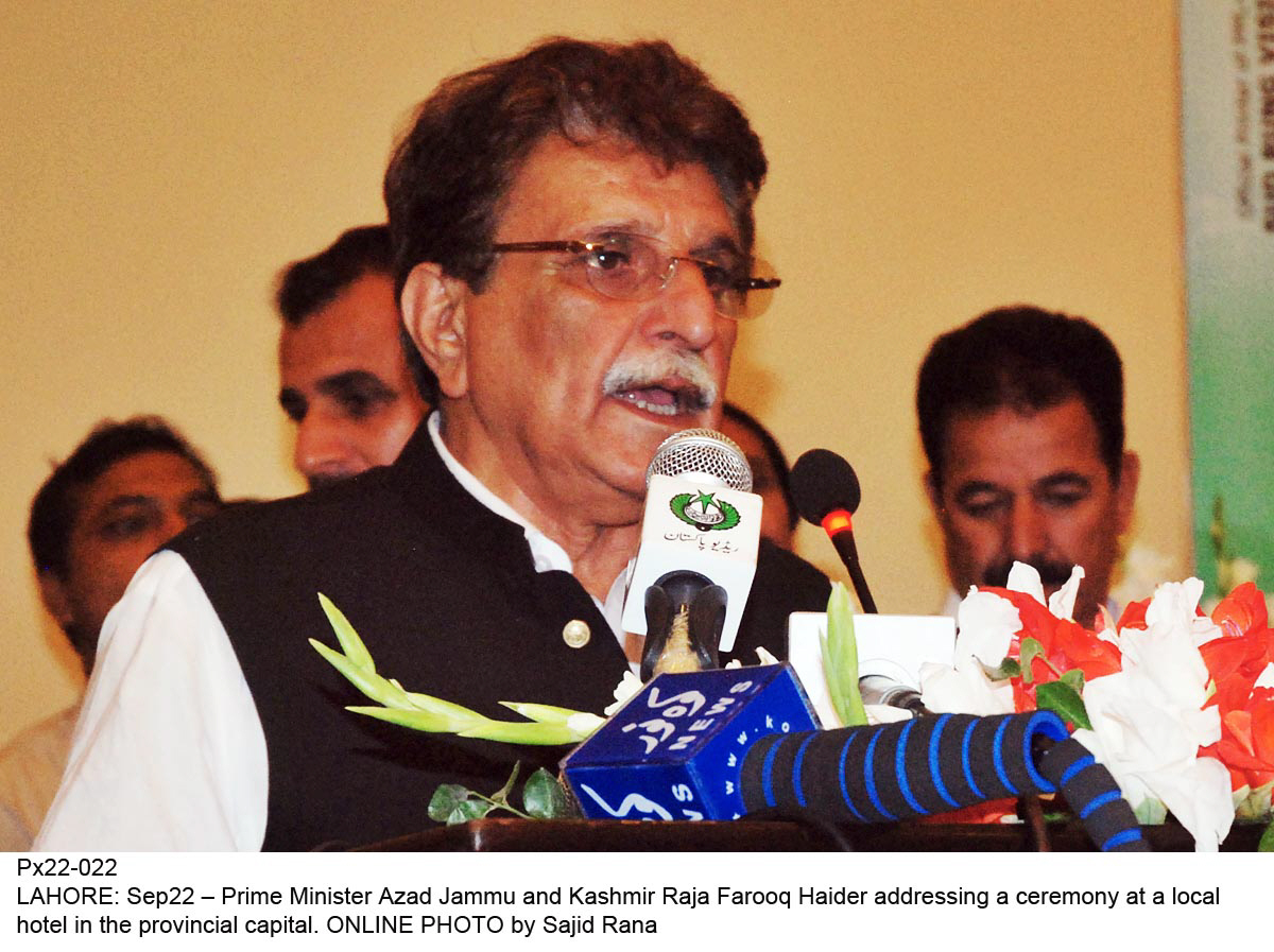 reactions kashmiri leaders welcome nawaz s un speech