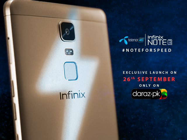 daraz pk infinix and telenor are bringing the biggest phone launch of the year