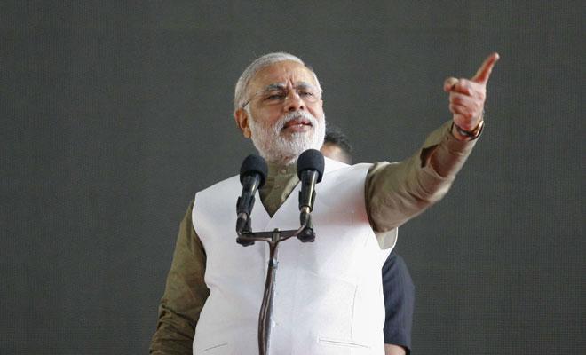 Indian Prime Minister Narendar Modi. PHOTO: AFP
