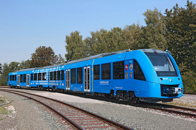 germany to get world s first hydrogen powered passenger train