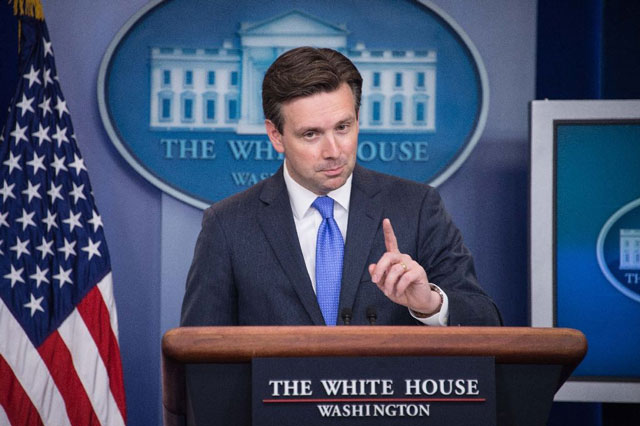 white house spokesperson josh earnest pictured on july 11 2016 photo afp