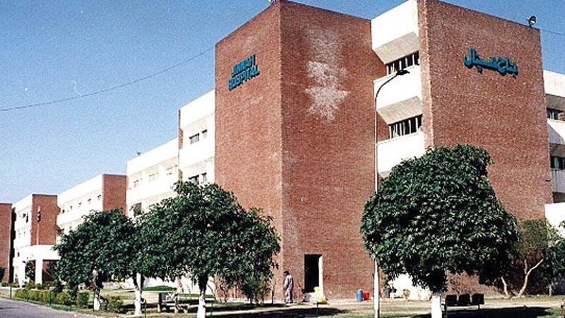 not a drop to spare taps run dry at jinnah hospital