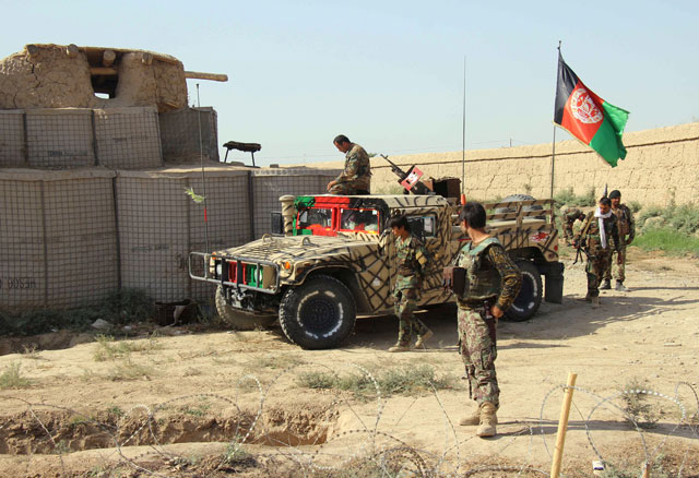 12 afghan troops killed while sleeping in insider attack