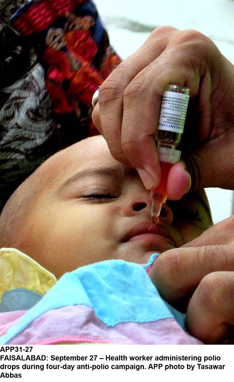 most polio victims this year are baby boys report