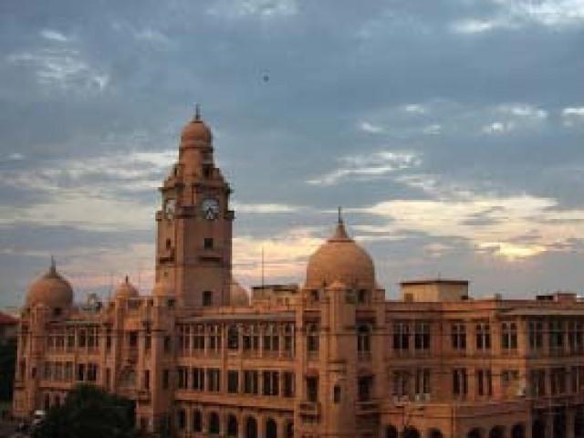 File photo of the Karachi Metropolitan Corporation. PHOTO: FILE