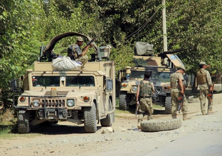 afghan city of kunduz under taliban attack
