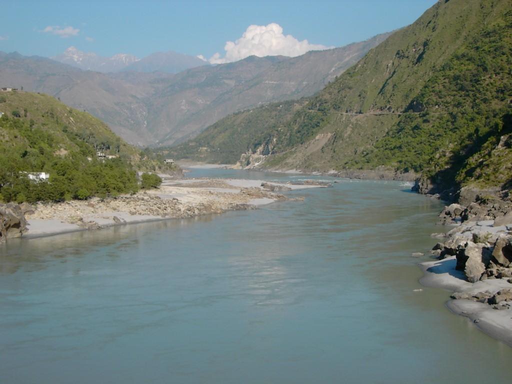 Indus River viewed from the Karakoram Highway. PHOTO: WIKIPEDIA
