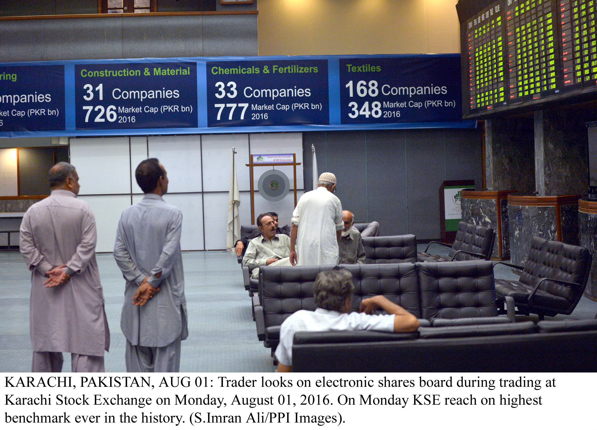 market watch bourse led by cement stocks closes at new all time high