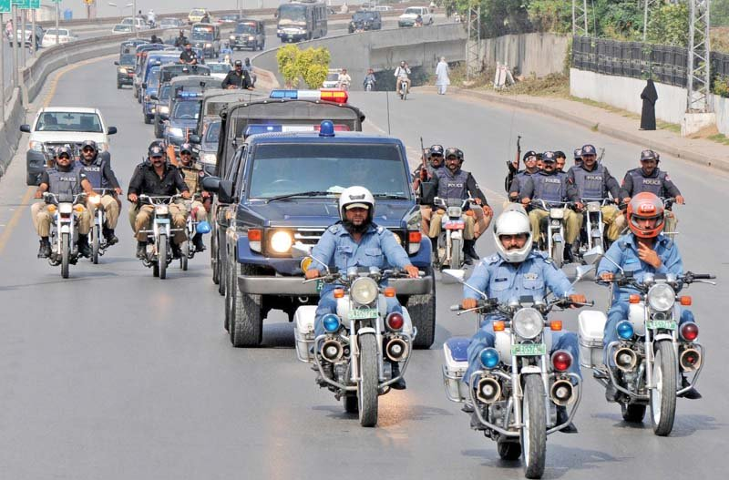 show of force police rangers hold flag march in twin cities