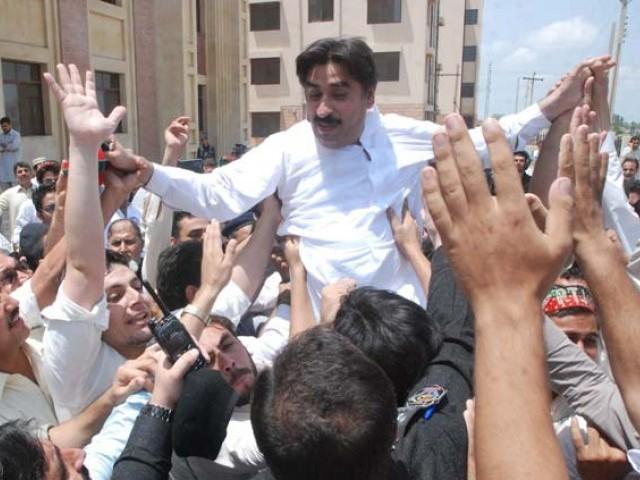 former k p minister ziaullah afridi photo sameer raziq express