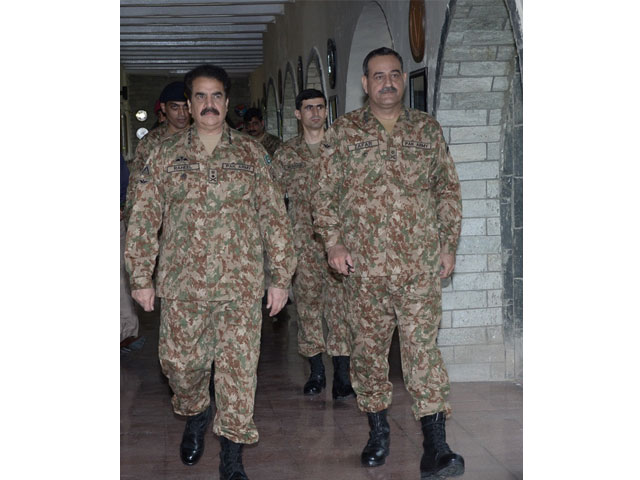 general raheel expresses complete satisfaction over military 039 s operational preparedness ispr says photo ispr