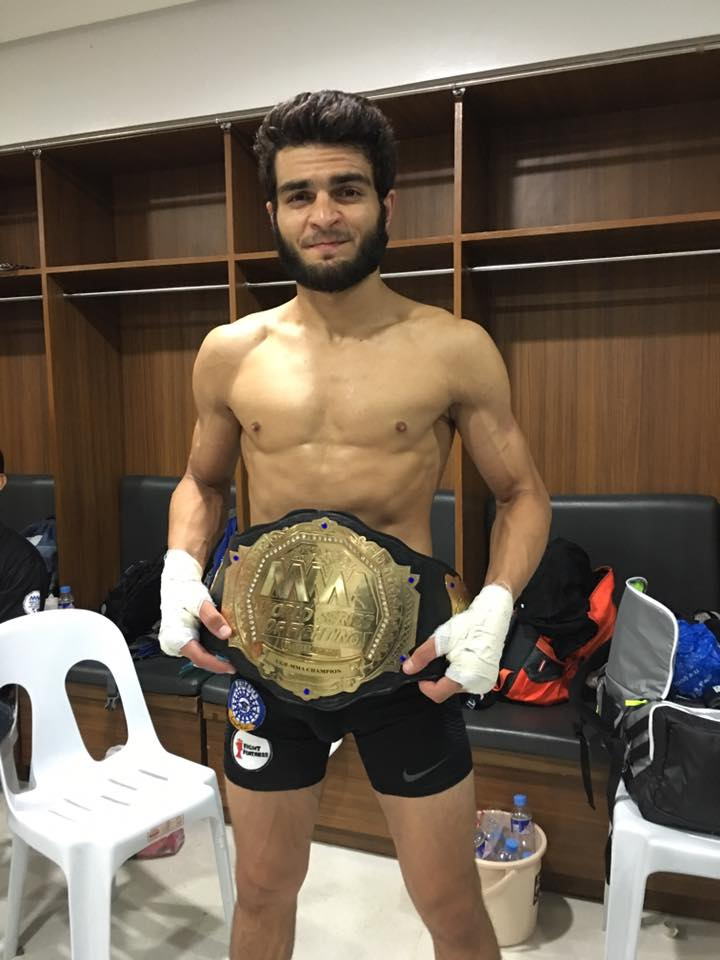 ahmed mujtaba signs for asia s biggest mma promotion