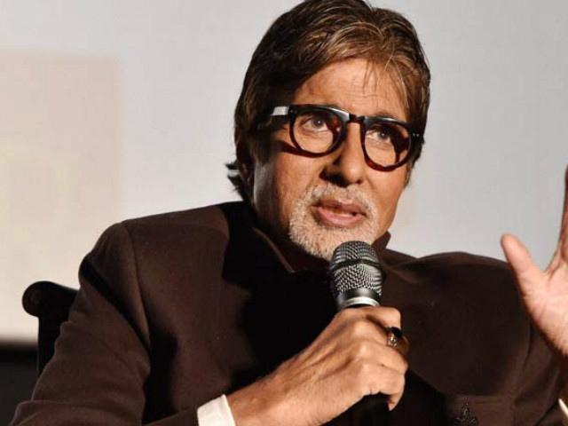 Big B speaks up on the issue. PHOTO: INDIAN EXPRESS