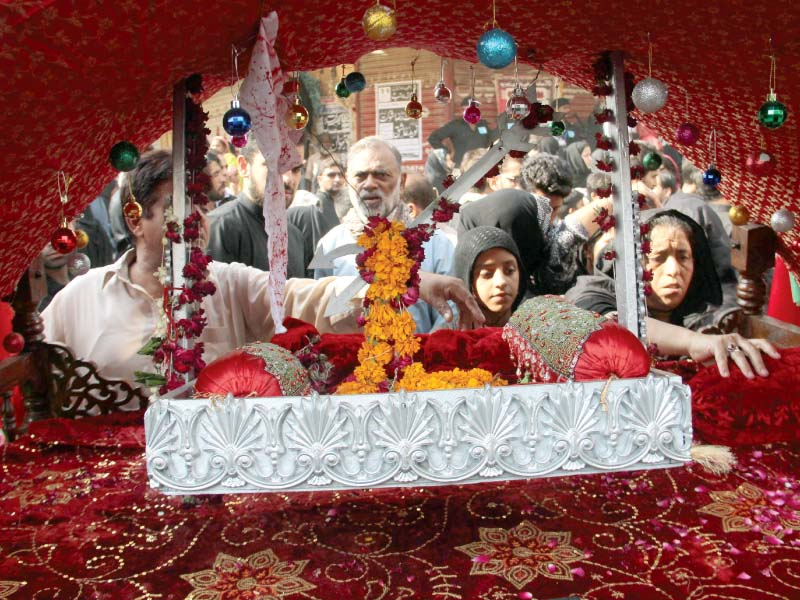 annual commemoration mourners brace for ashura amid tight security