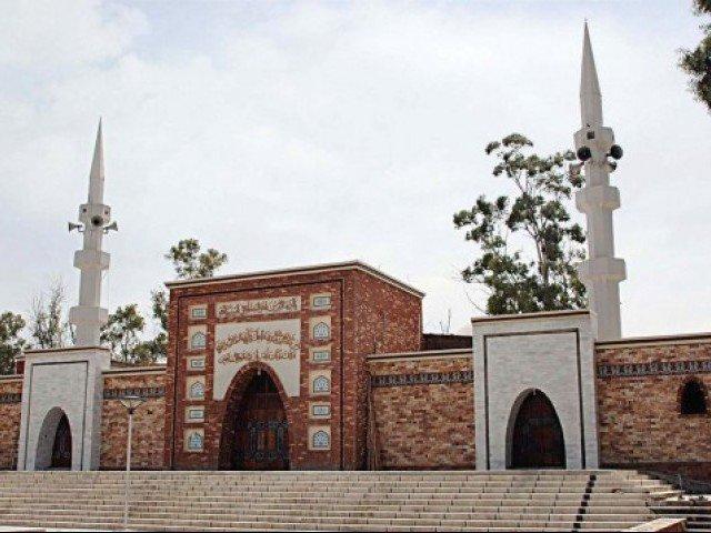 a file photo of the lal masjid photo file