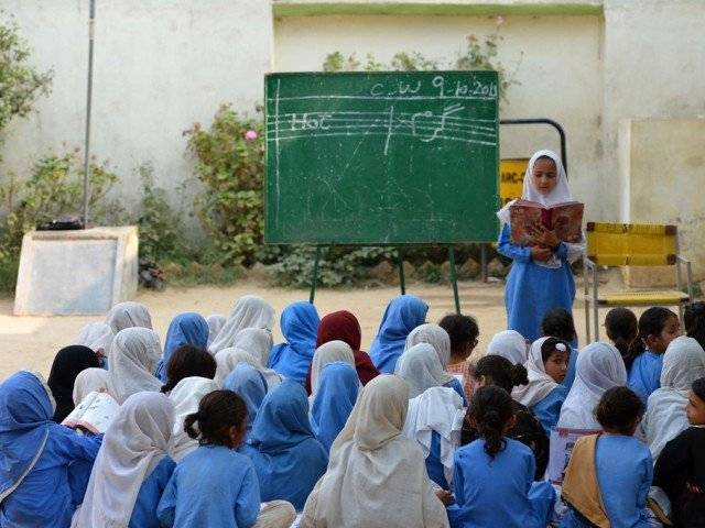 10 000 schools across sindh operating without lavatories