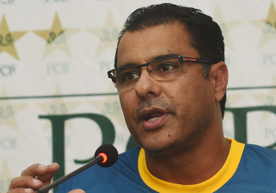 waqar younis used national side s 400th test as occasion to announce his favourites photo afp