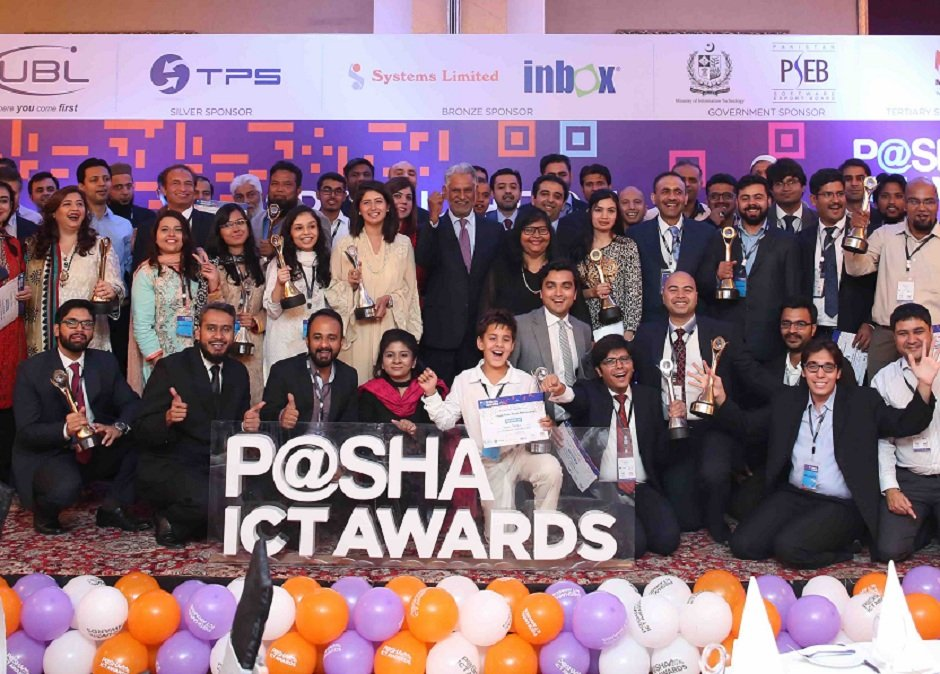 pakistan s leading tech firms crowned at p sha ict awards