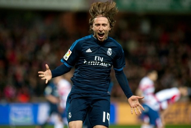 Luka Modric. PHOTO: AFP