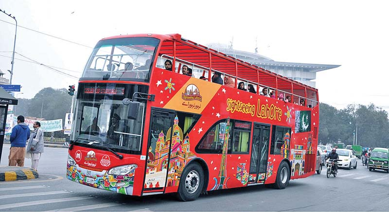 for sightseeing tours three more buses on the way