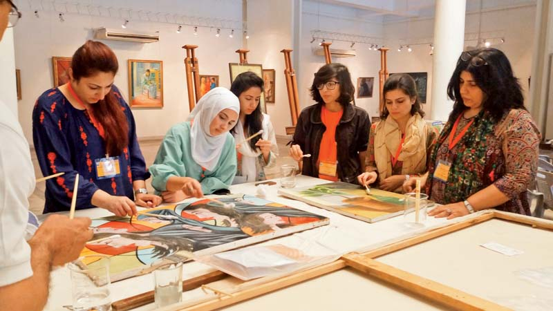 no tradition of art preservation in pakistan danish professional