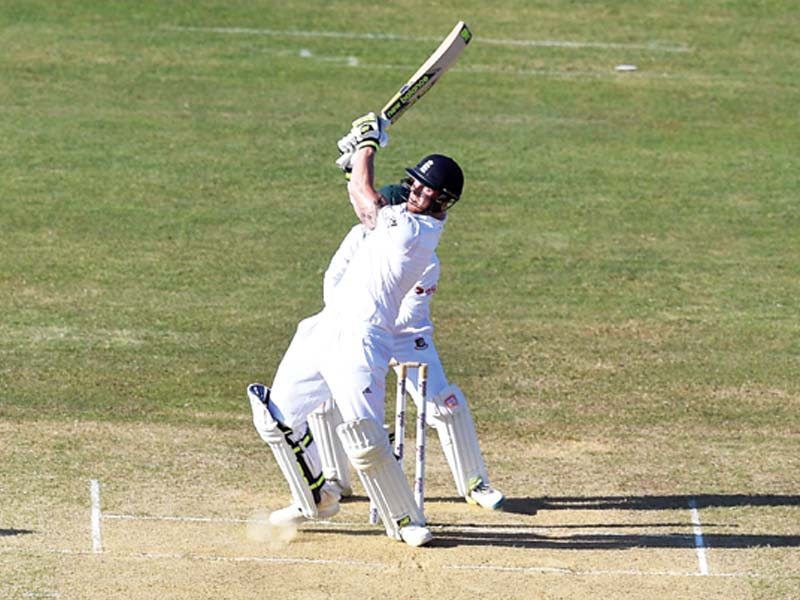 stokes keeps england in front