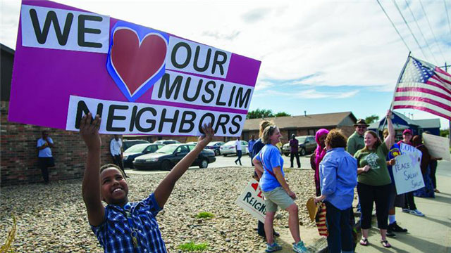 kansas christians rally in support of muslims
