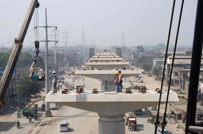 orange line brt construction resumes after long wait