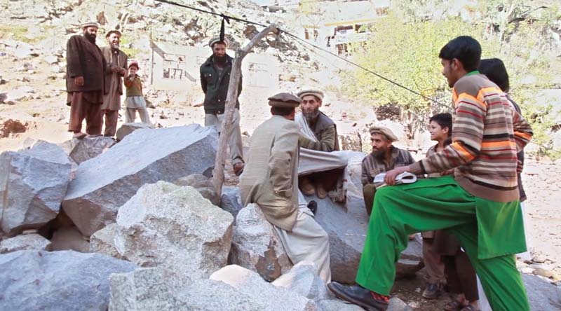 Screen shots from the documentary on the killing of five women in Kohistan on jirga's order. PHOTOS: EXPRESS