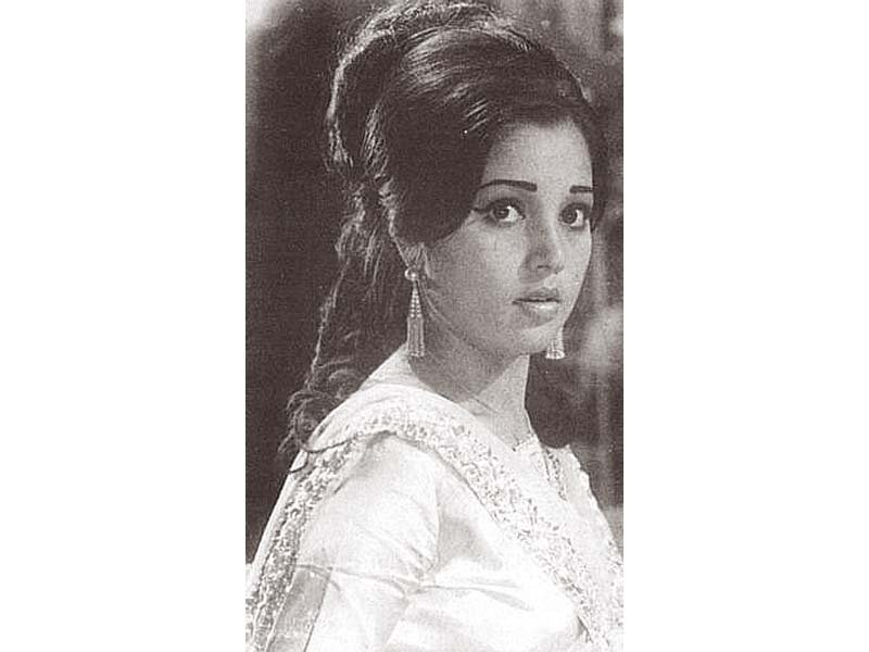 While Nisho is primarily known for her acting in Urdu films, she also appeared in a handful of Punjabi projects. PHOTO:  FILE