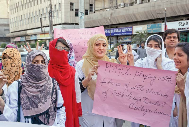uncertain future dentistry students demand registration of college