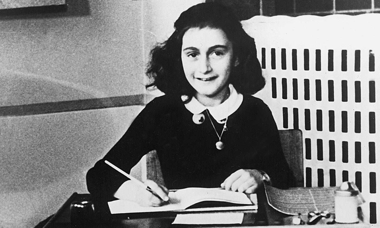 rare anne frank poem to be auctioned