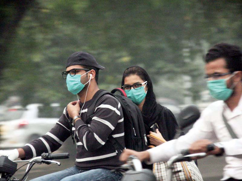 smog attack face masks eye drops running out of stock