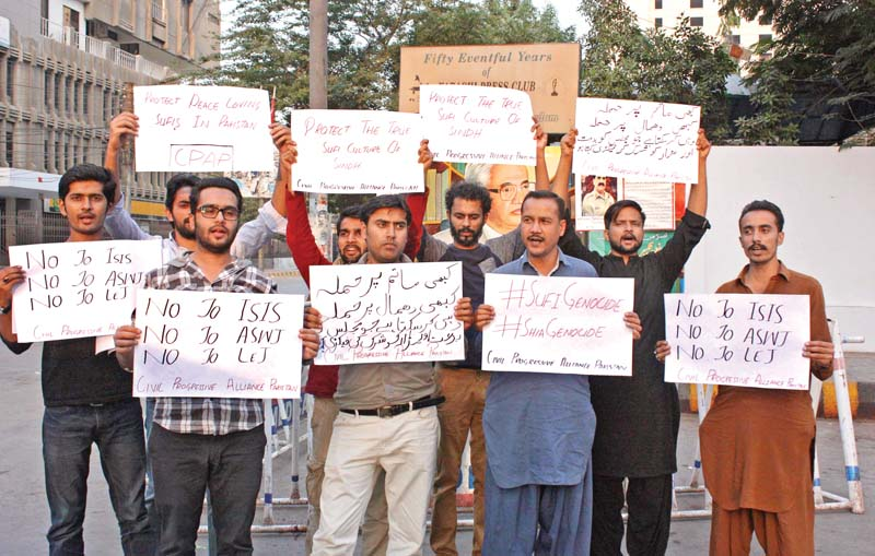 out on the streets civil society labourers stage protest