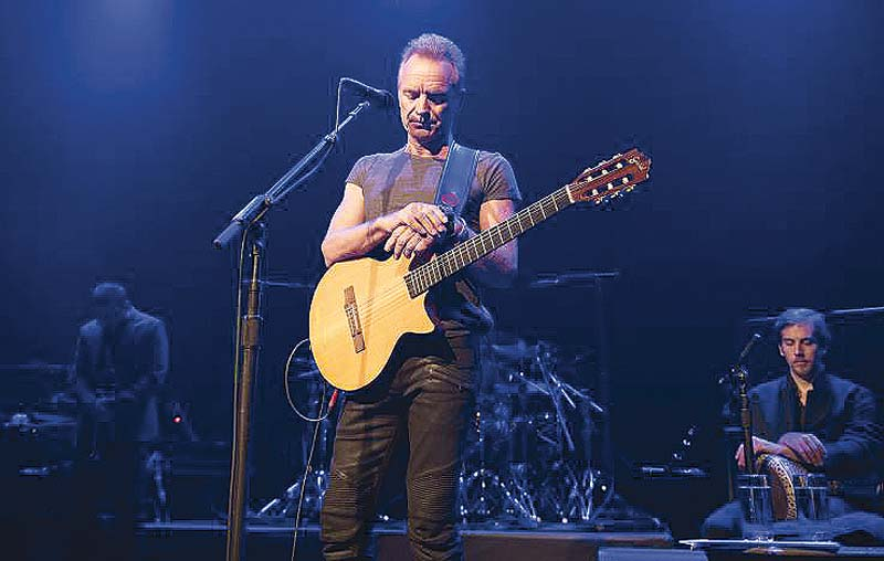 sting reopens bataclan with inshallah