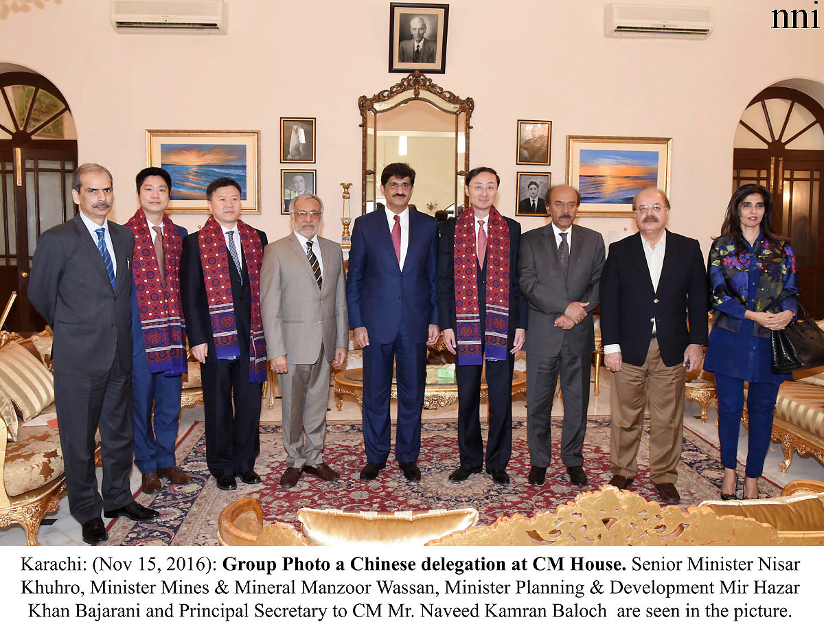 sindh to set up industrial zone in cooperation with china