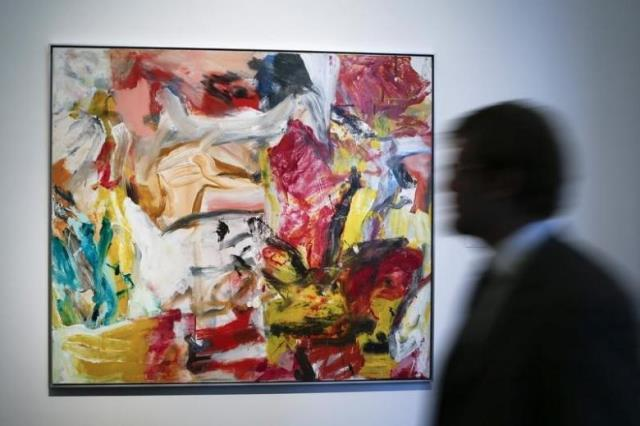 de kooning painting sold for record 66 3 million