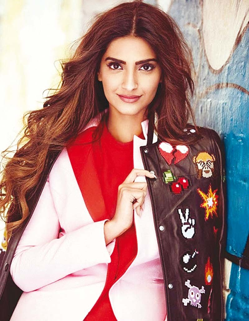 sonam has been at the forefront when it comes to using social media to promote her films photo file