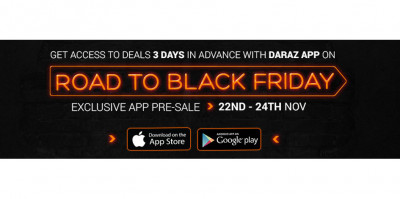 Daraz Zong And Easypay All Set To Bring A Digital Revolution With Black Friday 2016 The Express Tribune