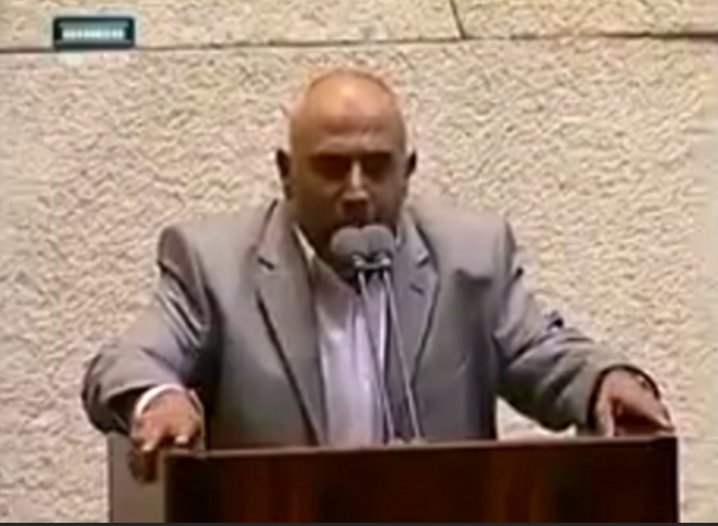 arab lawmaker delivers azan in israeli parliament to protest against controversial bill