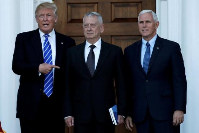 in weekend of deliberation mattis favored for trump pentagon chief