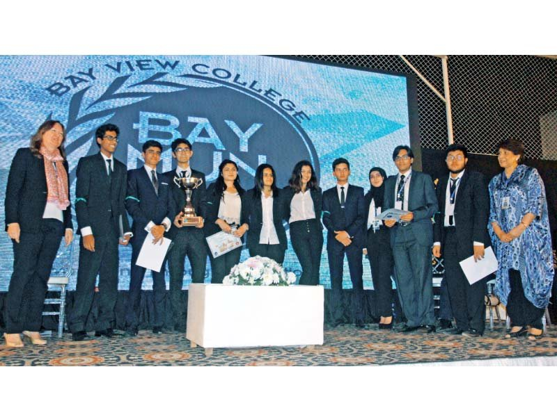 polishing diplomacy skills three day baymun conference comes to an end