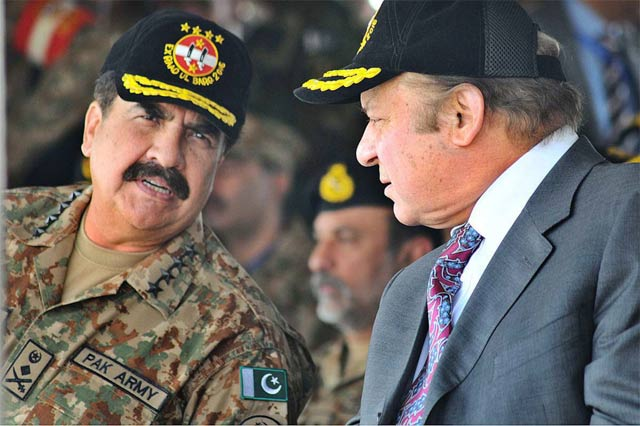 premier is accompanied by gen raheel who has begun his farewell visits photo online