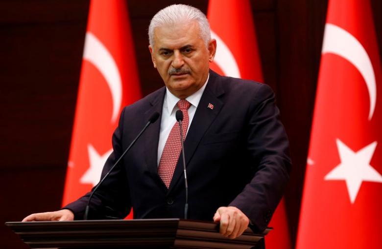 turkey 039 s prime minister binali yildirim addresses the media in ankara turkey june 27 2016 photo reuters